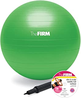 The Firm Slim and Sculpt Stability Ball with DVD