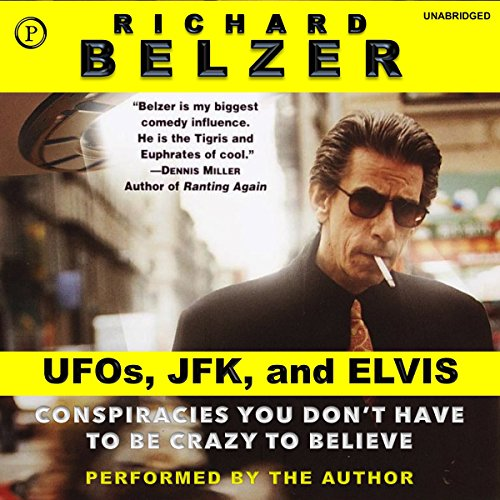 UFOs, JFK, and Elvis audiobook cover art