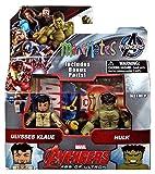 Marvel Avengers Age of Ultron Minimates Series 63 Ulysses Klaue & Hulk 2' Minifigure 2-Pack by Diamond Select Toys