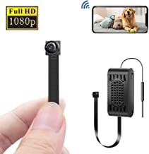 Wireless Hidden Camera, Eslibai WiFi Hidden Camera with Motion Detection, HD 1080P for iOS iPhone Android Phone App Remote View, Support 128GB SD Card (V089)
