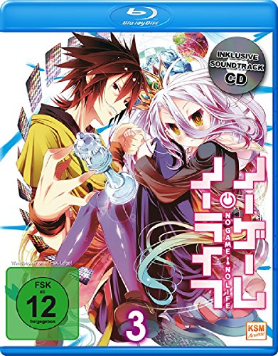 No Game No Life - Episode 09-12  & Soundtrack CD Vol.3 [Limited Edition](Blu-ray) (2-Disc-Set)