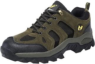 $26 Get ASOBIMONO Men Hiking Shoes Waterproof Walking Shoes Non-Slip Outdoor Trekking Work Shoe
