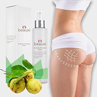 beauxi Buttocks Plumping Lotion, Fast Acting All Natural Butt & Hips Firming & Lifting Enhancement - Enlargement Cream for Women with Anemarrhena Asphodeloides Extract | Lift Up Butt Shaping Cream