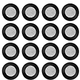 30 Stück Duschkopf Dichtung O Ring Filternetz Edelstahl Schlauchdichtung Gummi Scheibe mit 40 Mesh für Garten Schlauch Waschmaschine und 1/2 Zoll Dusch Brausekopf