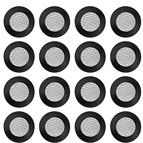 TXErfolg 30 Stück Duschkopf Dichtung O Ring Filternetz Edelstahl Schlauchdichtung Gummi Scheibe mit 40 Mesh für Garten Schlauch Waschmaschine und 1/2 Zoll Dusch Brausekopf