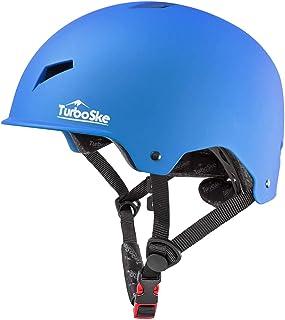 کلاه ایمنی اسکیت TurboSke Skateboard ، کلاه ایمنی اسکوتر دوچرخه سواری CPSC ASTM برای کودکان و نوجوانان بزرگسالان بزرگسال مردان و زنان