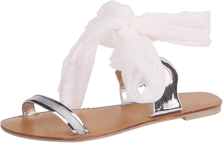 Summer shoes Women Sandals Flats Ladies Sandals Cross Strap Ribbon Flat AnkleRoman shoes shoes de women de Moda  G30