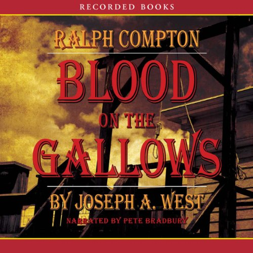 Blood on the Gallows audiobook cover art