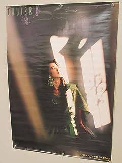 F241中森明菜 B2 72.5×51cm ポスター CRUISE 昭和/レトロ/アイドル/ワーナー/パイオニア/広告/印刷物/Photo by KAZUNORI TSUKADA