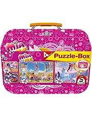 Mia & Me, Puzzle-Box, 2x60, 2x100 Teile im Metallkoffer