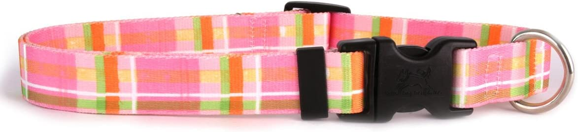Yellow Dog online shopping Design Madras Pink Collar f 8 X-Small-3 and Wide High material