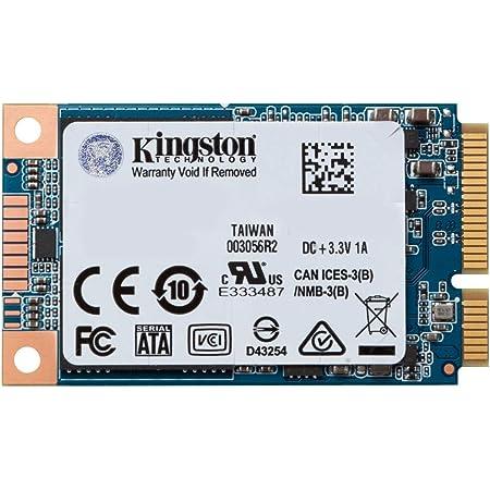 キングストンテクノロジー SSD 480GB mSATA SATA3 3D NAND搭載 UV500 SUV500MS/480G