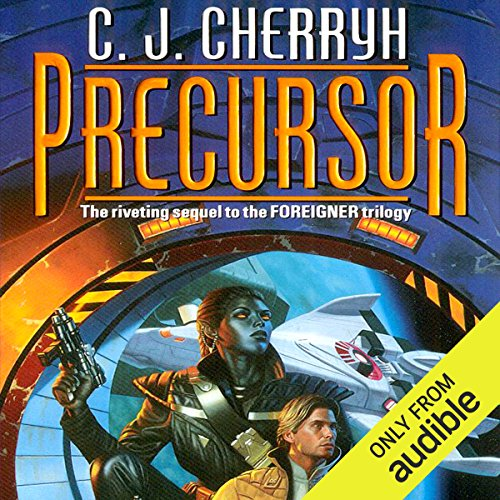 Precursor     Foreigner Sequence 2, Book 1              By:                                                                                                                                 C. J. Cherryh                               Narrated by:                                                                                                                                 Daniel Thomas May                      Length: 17 hrs and 5 mins     553 ratings     Overall 4.6