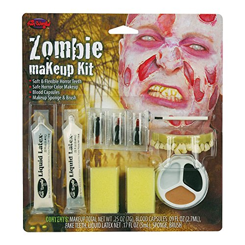 NUEVO MUERTOS VIVIENTES Zombie Peeling Piel Maquillaje Halloween Terror Disfraz especiales FX Kit