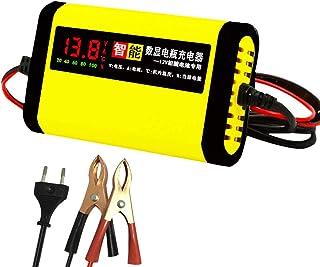 comprar comparacion KKmoon Cargador de Baterias 12v, 2A Cargador Inteligente 3 Etapas Plomo ácido AGM GEL Pantalla LCD de Motocicleta Automóvil