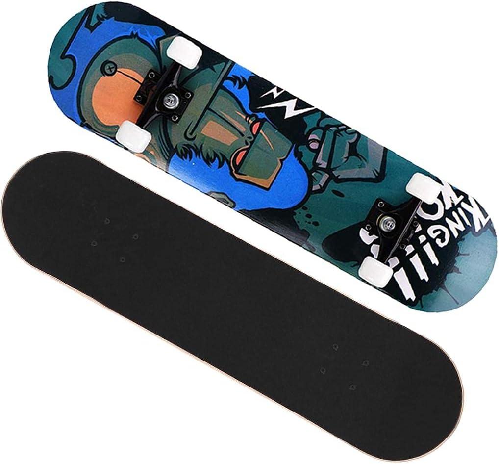 PUTEARDAT standard excellence skateboards - 31.5in 7 trick Layer skateboard Charlotte Mall