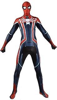 Avengers Spider-Man Captain America Jumpsuit Cosplay Garment 3D Print Halloween Carnival Superhero Bodysuit Suit Party Fil...