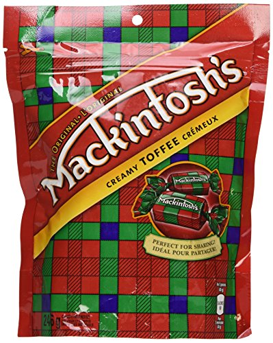 Nestle Mackintosh Mack Toffee Candy | 246 gram Bag | Made in Canada