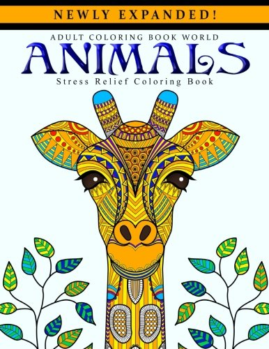 B7A.Book] Free Download Adult Coloring Books: Animals ...