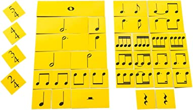 NotePerfectProject Rhythm Cards Elementary Time. Writable, Wipe-Clean Flash Cards.