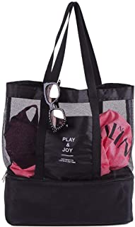 Sevia Single Shoulder Travel Bag, Shopping Bag Picnic Shoulder Bag with 2 Compartment Single Shoulder Hanging Fashion Picn...