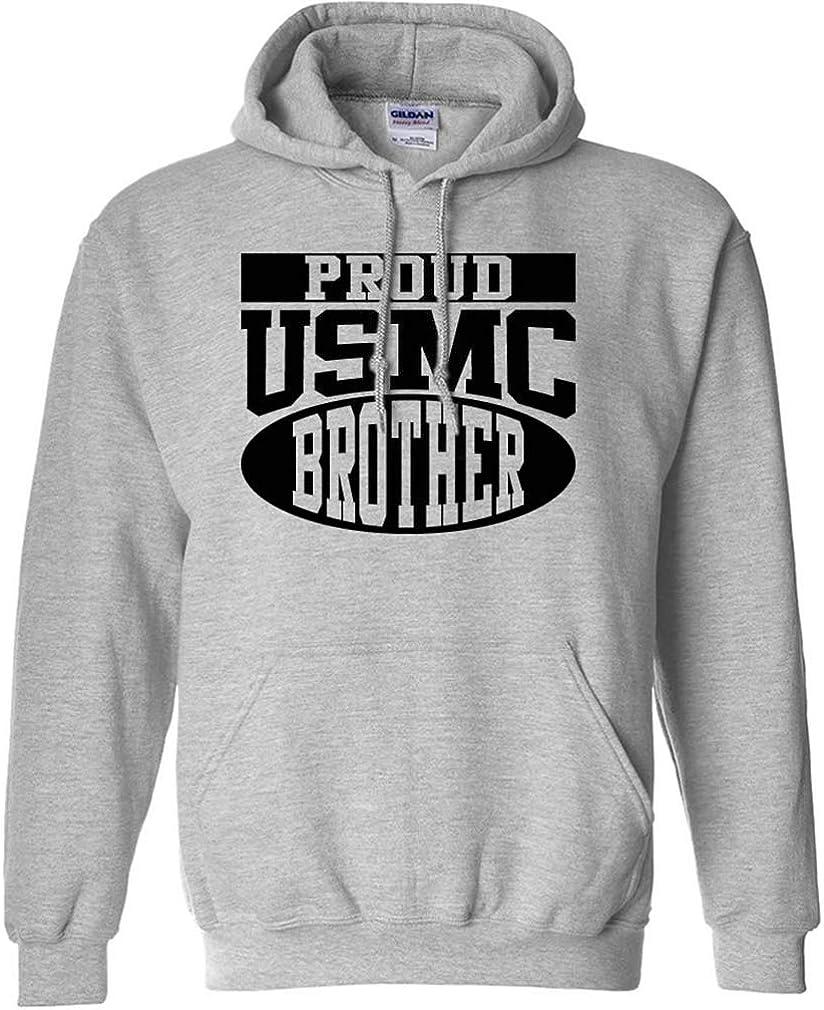 Proud Max 44% OFF USMC Omaha Mall Brother Hooded Sweatshirt