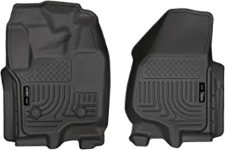 Husky Liners Fits 2012-16 Ford F-250/F-350 Crew Cab/SuperCab Weatherbeater Front Floor Mats