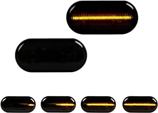 LED Blinker Seitenblinker Blinkleuchte Dynamisch Laufblinker mit E-Pr/üfzeichen White Vision V-170142LG