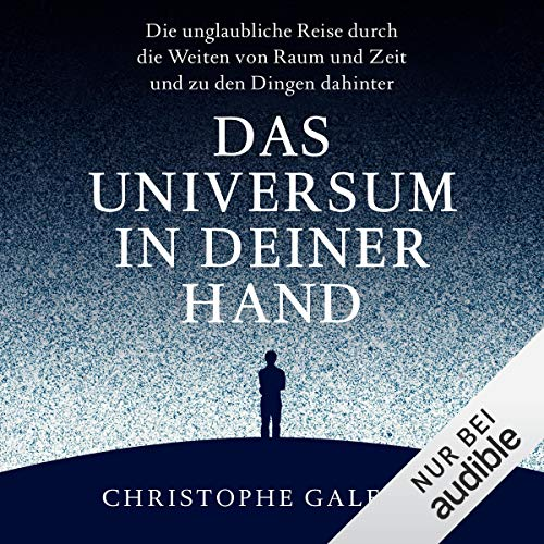 Das Universum in deiner Hand audiobook cover art