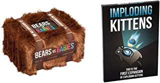 Bears vs Babies: A Card Game From the Creators of Exploding Kittens with Imploding Kittens: This is the First Expansion of Exploding Kittens Bundle