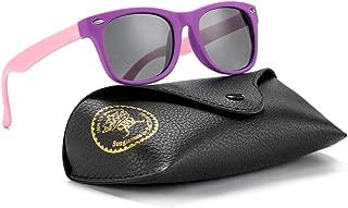 Flexible Kids Sunglasses Polarized Baby Boys and Girls UV...