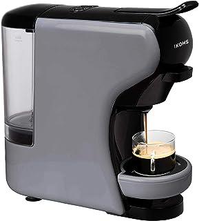 comprar comparacion IKOHS Máquina de Café Espresso Italiano - Cafetera Multi Cápsulas Compatible Nespresso 3 en 1, 19 bares con 2 Programas de...