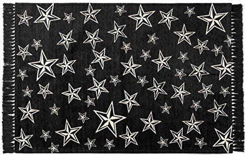 スターフリンジ ラグ 140×200cm STAR FRINGE RUG [ グレー ]