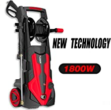 AOBEN Electric Pressure Washer, 2150 PSI 1.85 GPM Power Washer with Unique Linear Pump Designed and High Performance Motor Form a Professional Car Washer Cleaner Machine 1800W