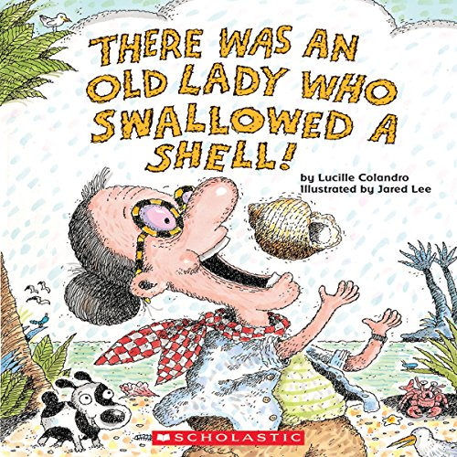 There Was an Old Lady Who Swallowed a Shell! audiobook cover art