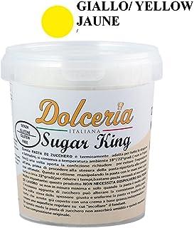 Pasta de azúcar Fondant 1 kg Amarillo