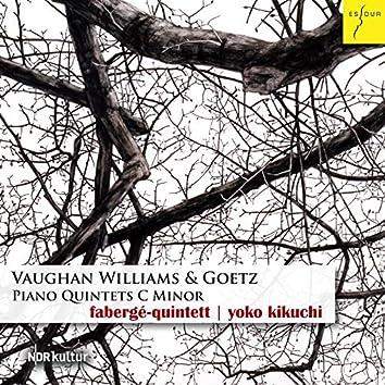 Vaughan Williams & Goetz: Klavierquintette C-Moll
