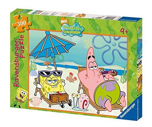 Ravensburger 13142 - SpongeBob: Urlaubsfeeling - 300 Teile Puzzle