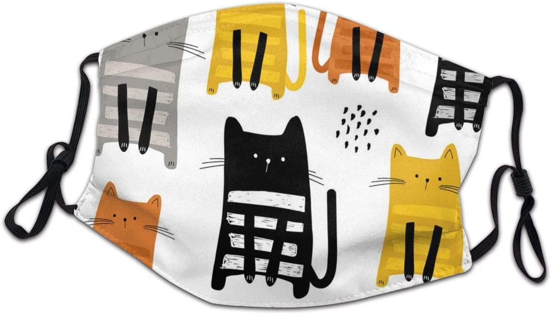Lcokin Child Face The Cats Indianapolis Mall Mouth Reusab Washable Pattern Fashion Popular overseas
