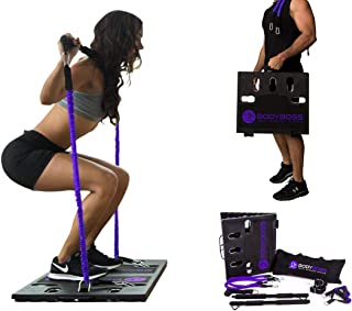 باندهاي مقاومت بسته تمريني بدنسازي بدني BodyBoss 2.0 - قابل حمل