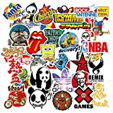 Laptop Stickers 100Pcs, Water Bottle Stickers for Skateboard Guitar Travel Case Decal Graffiti Patches, Waterproof Hydro Flask Stickers for Door Car Bike Teens Girls, Vinyl Bts Supreme Stickers Pack F