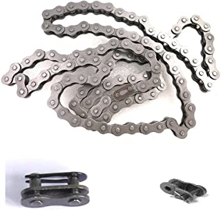 CDHPOWER #415 Bike Chain (1pc), 415 Chain Link (Chain Locks) (1pc), Half Link (1pc) - for 66cc/80cc Gas Motorized Bicycle
