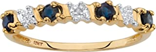Best gold ring with sapphire stone Reviews