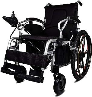 De Peso Ligero Plegable sillas de Ruedas eléctrica Silla de Ruedas eléctrica 320 2W 24V 40Ah por Li-Ion, más Larga Gama de conducción de Ruedas Eléctrica Seguro y fácil de Conducir, hasta 40 km