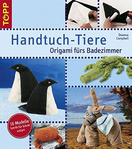 Handtuch-Tiere: Origami fürs Badezimmer