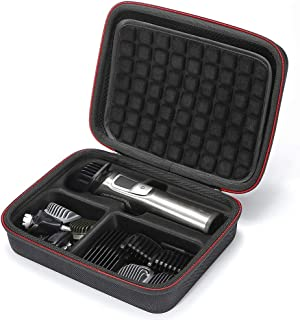 L3 Tech Hard Travel Carrying Case for Philips Norelco MG7750/49 MG7730/15 MG5720/15 MG7770/15 Multigroom 7000 Face Styler and Grooming Kit, (Device and Accessories are not Included) - Black