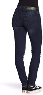 Womens Rosemary Tonal Topstitched Skinny Jeans
