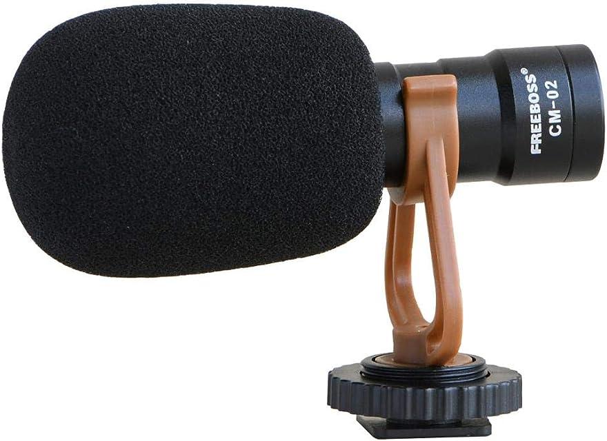 AFGH Microphone Condensador cámara en Forma de corazón teléfono Inteligente micrófono Video micrófono