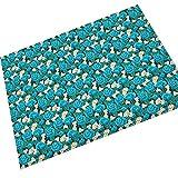 HEZESHOP Mikrofaser Moderne Teppich weichen Kindergarten große Matte Indoor Carpet für Kinder spielzimmer Schlafzimmer Carpet Carpet Wohnzimmer Carpet Decor 40X60CM