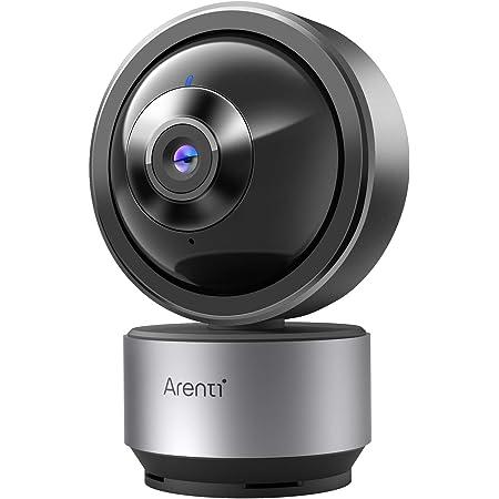 Arenti Camaras de Vigilancia , Camara Vigilancia de WiFi Interior Resolución 2K Compatible con Alexa y Google Assistant, Modo Privado, Sensor de Movimiento, Reconocimiento de Ruido y Visión Nocturna